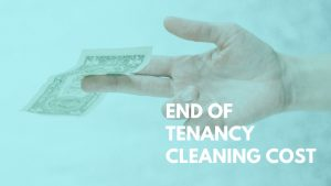end of tenancy cleaning cost